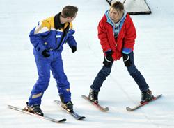 Private ski lessons in english italian swiss alps cervinia italy november to april, mai