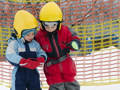 english ski shool lessons children kids italian swiss alps cervinia