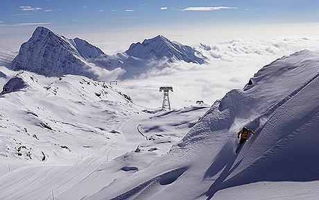 english ski lessons monte rosa italy italian alps