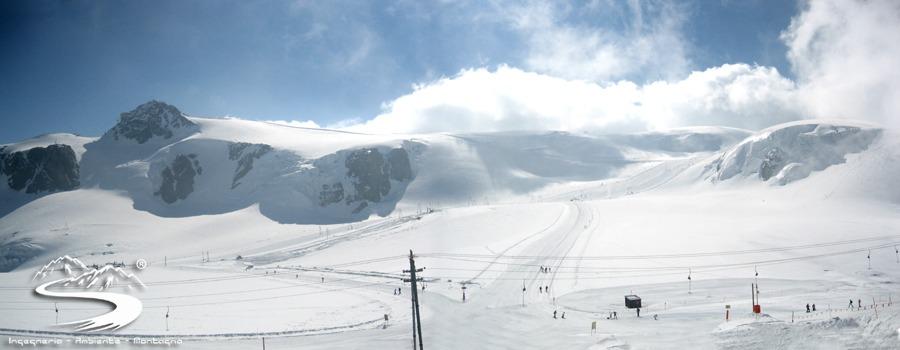 english ski lessons november april mai Cervinia Plateau Rosa italian alps