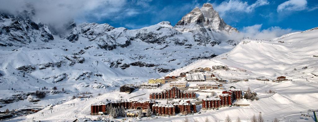 ski october november april mais italian alps breuil cervinia